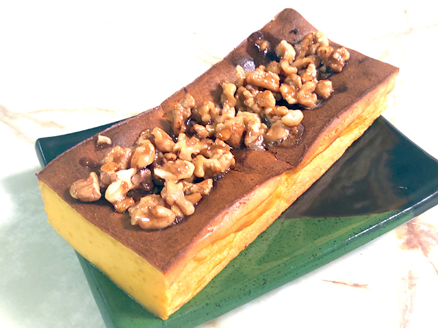 ハロウィンに!南瓜のナッツ乗せパウンドケーキ♪