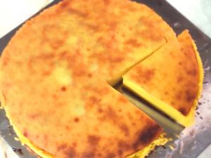 ミキサーで簡単!南瓜とヨーグルトのヘルシーケーキ♪