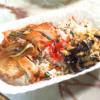 大阪王将の海苔弁を真似?鶏むねで作る海苔なしのり弁